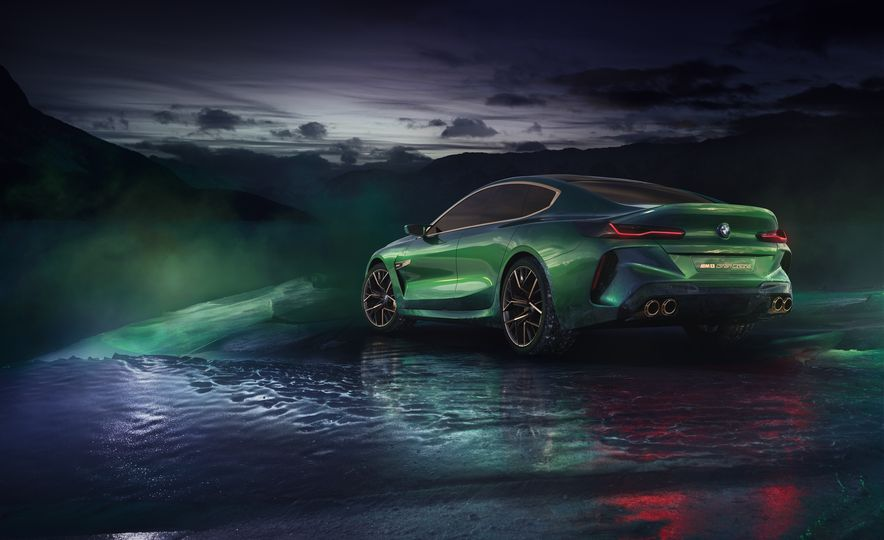 BMW M8 Gran Coupe concept - Slide 15