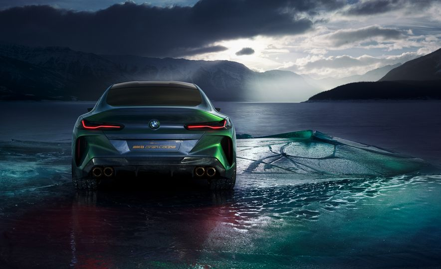 BMW M8 Gran Coupe concept - Slide 16