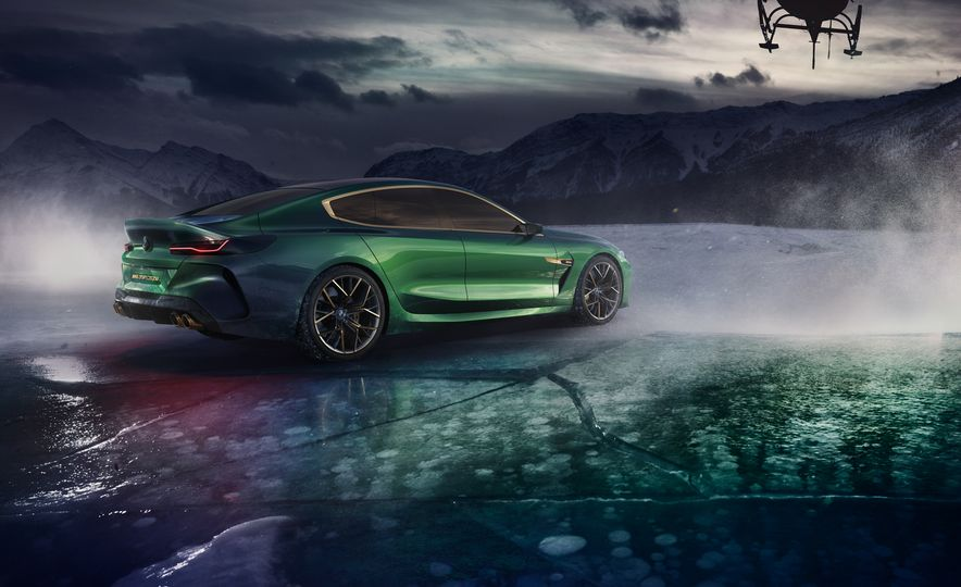 BMW M8 Gran Coupe concept - Slide 17