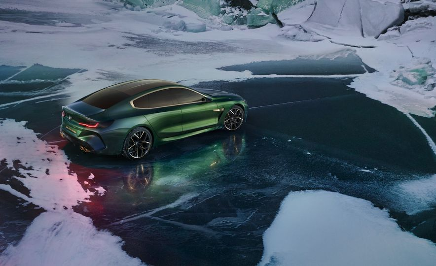 BMW M8 Gran Coupe concept - Slide 18