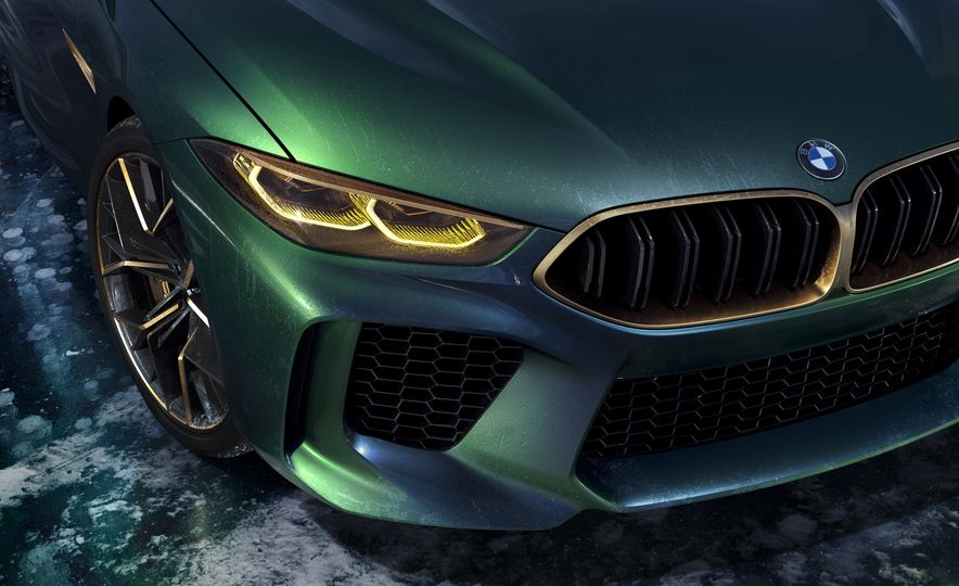 BMW M8 Gran Coupe concept - Slide 19
