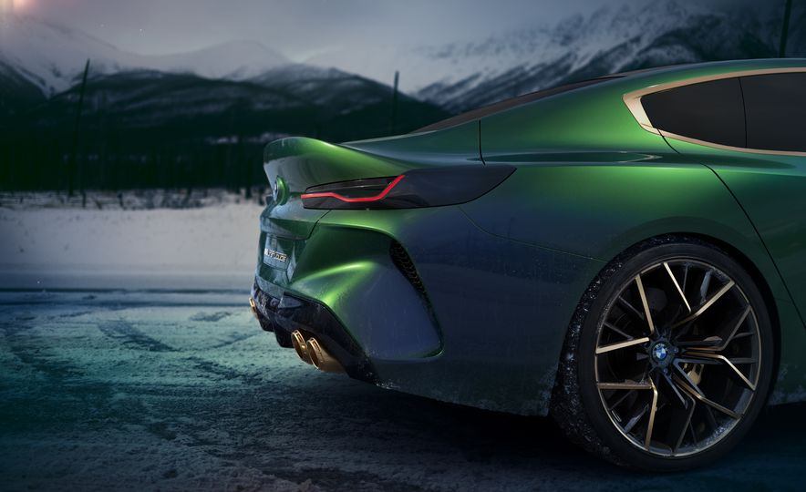 BMW M8 Gran Coupe concept - Slide 20