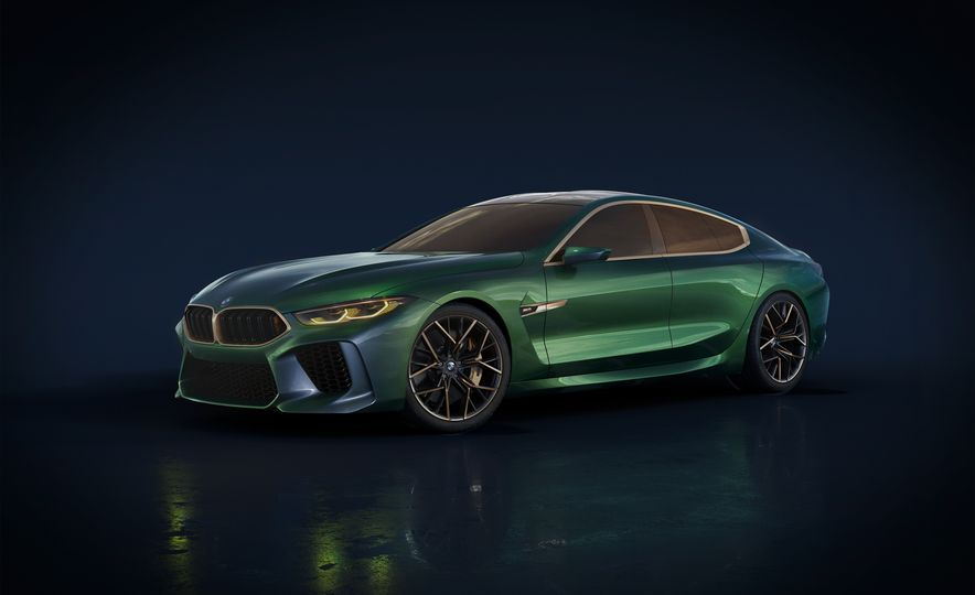 BMW M8 Gran Coupe concept - Slide 21