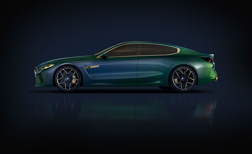 BMW M8 Gran Coupe concept - Slide 22