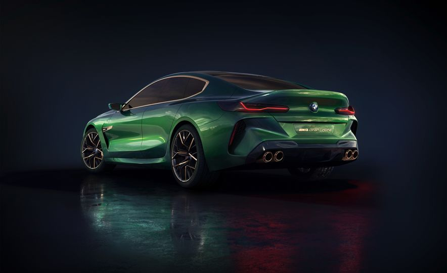 BMW M8 Gran Coupe concept - Slide 23