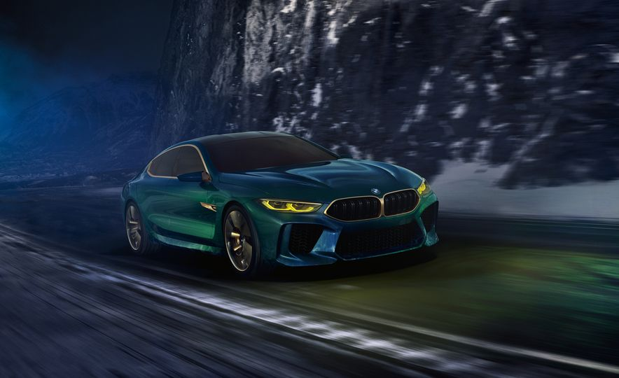 BMW M8 Gran Coupe concept - Slide 1