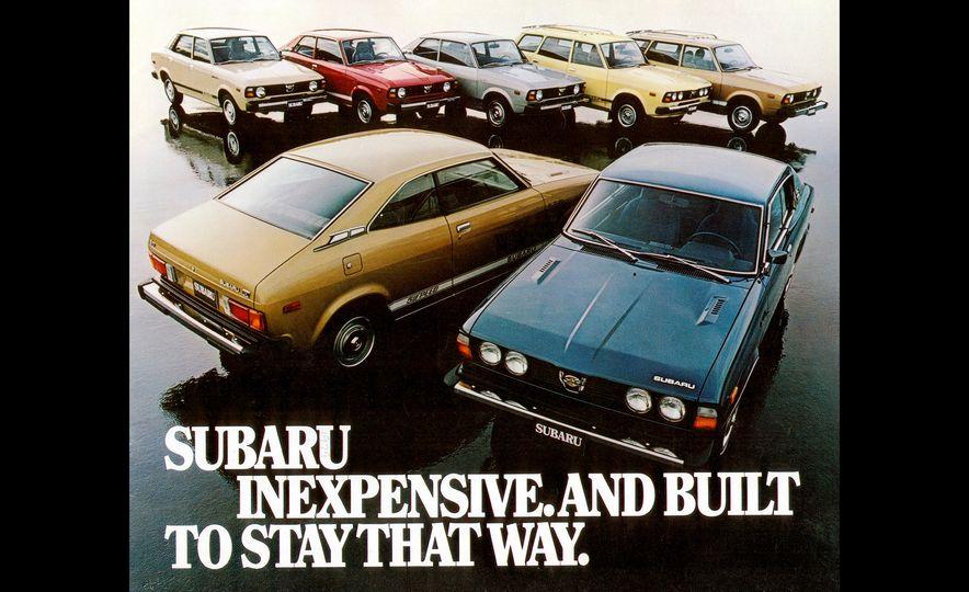 A Visual History of Subaru's 50 Years in America - Slide 4