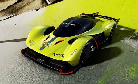 Aston Martin and Red Bull Play Top Trumps with Valkyrie AMR Pro