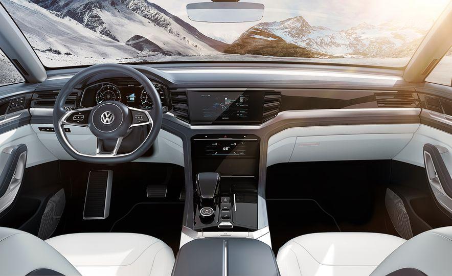 Volkswagen Atlas Cross Sport concept - Slide 24