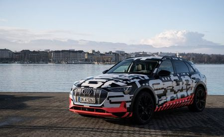 Audi Reveals e-tron Quattro Electric SUV Prototype in Geneva