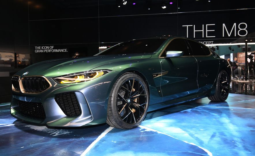 BMW M8 Gran Coupe concept - Slide 3