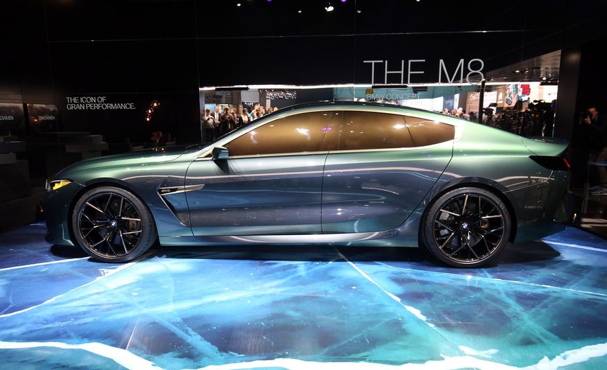 BMW M8 Gran Coupe concept - Slide 4