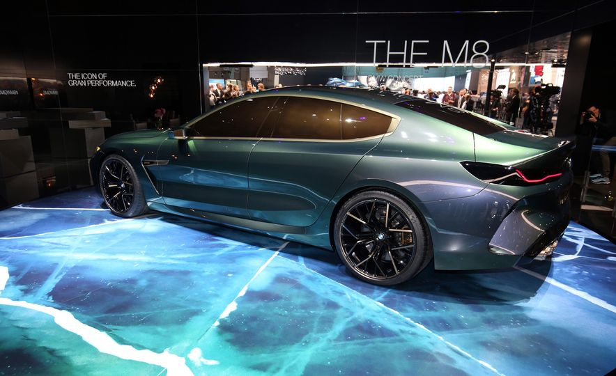 BMW M8 Gran Coupe concept - Slide 5