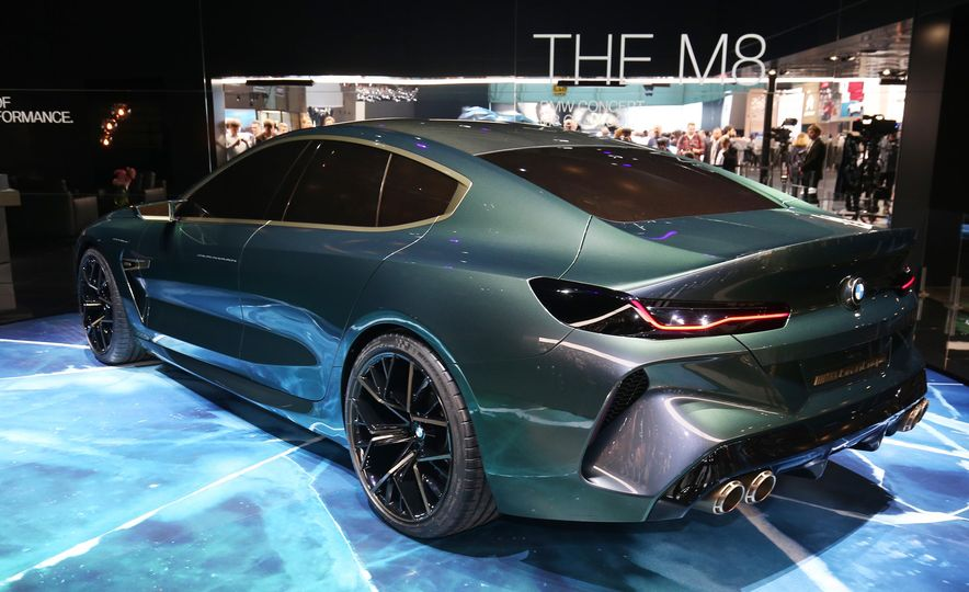 BMW M8 Gran Coupe concept - Slide 6