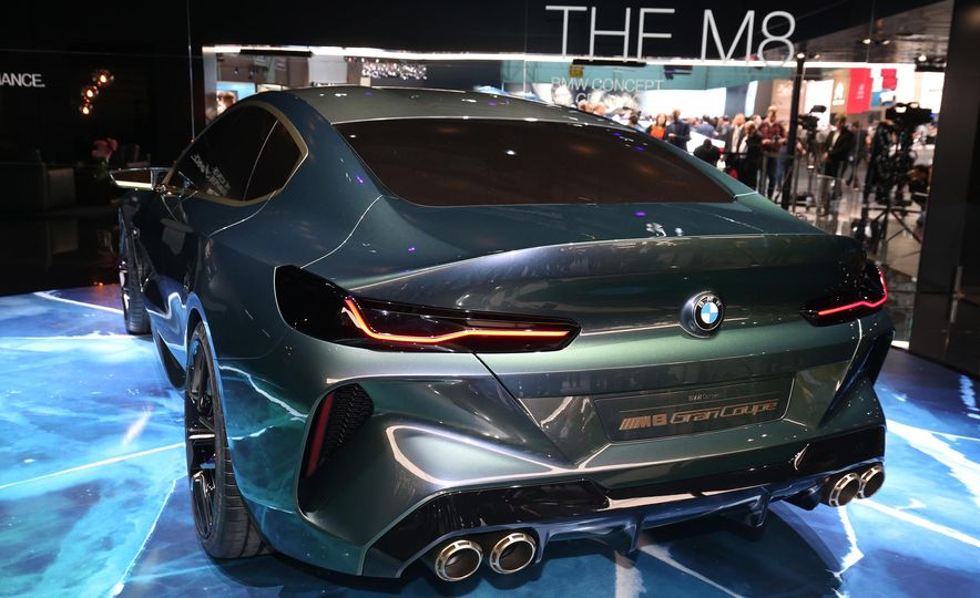 BMW M8 Gran Coupe concept - Slide 7