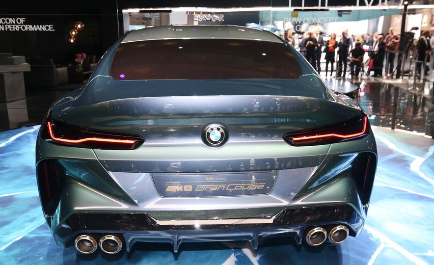 BMW M8 Gran Coupe concept - Slide 8