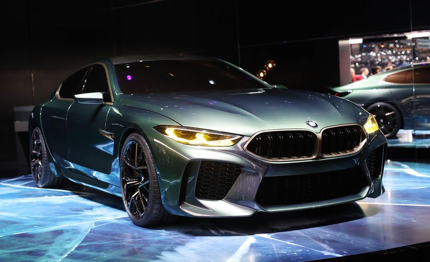 BMW M8 Gran Coupe concept - Slide 2