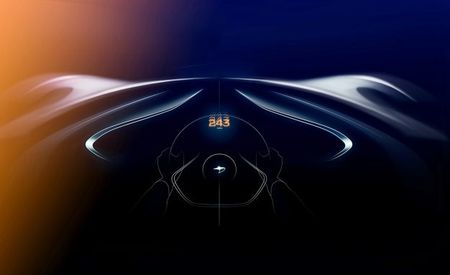 No Sweat: McLaren Says Its Three-Seater Will Exceed 243 MPH