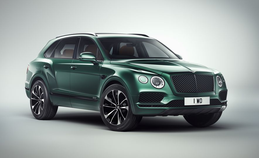 Bentley Bentayga by Mulliner, Inspired by The Festival - Slide 1