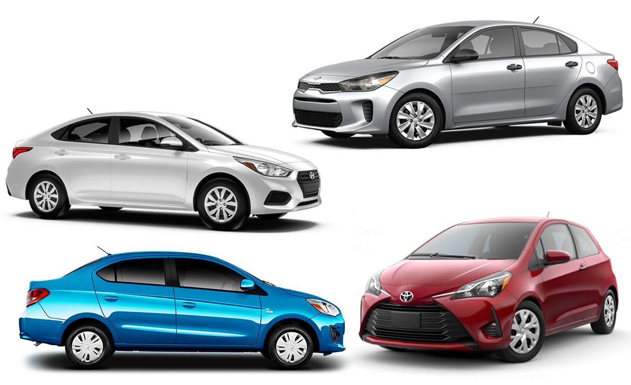 The  Cheapest New Cars Of