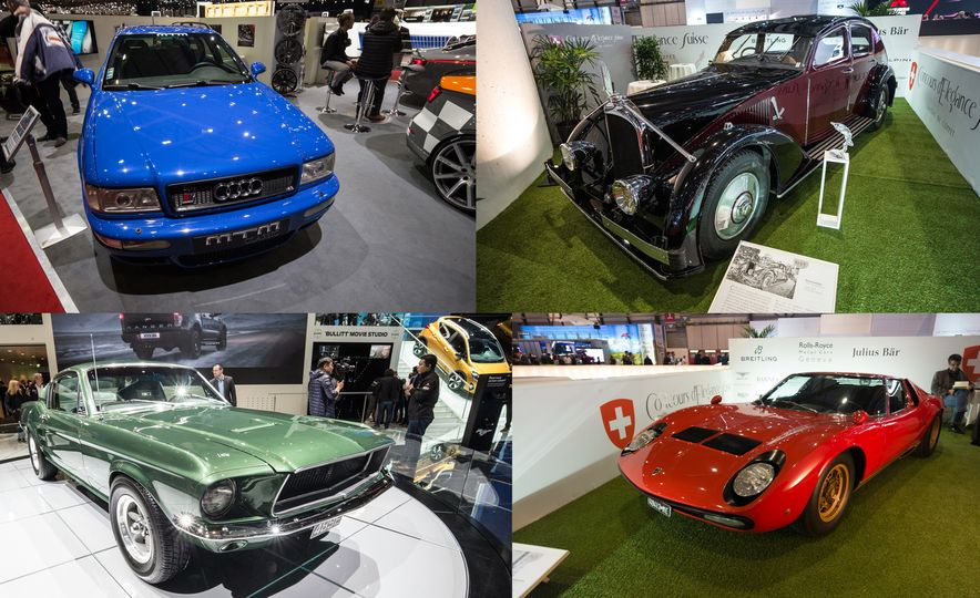 The Coolest Vintage Cars At The Geneva Auto Show - Classic show cars