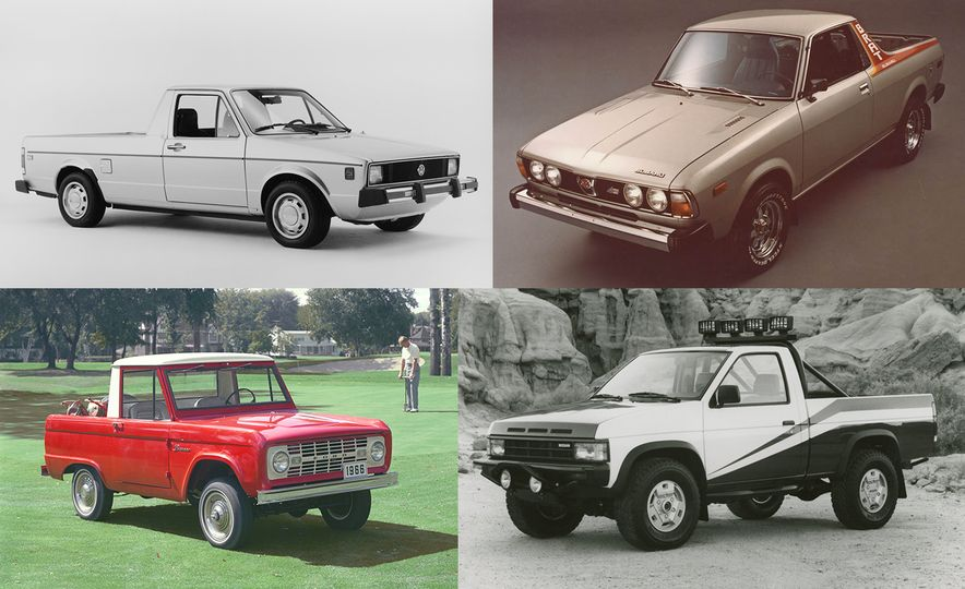 Put to Bed: These Are the Forgotten Pickup Trucks, Volume I - Slide 1