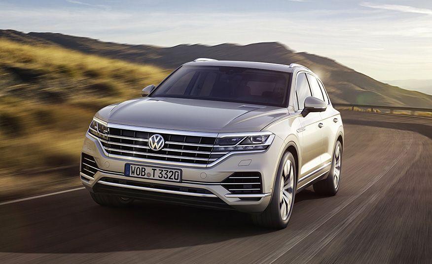 2019 Volkswagen Touareg (Euro-spec) - Slide 3