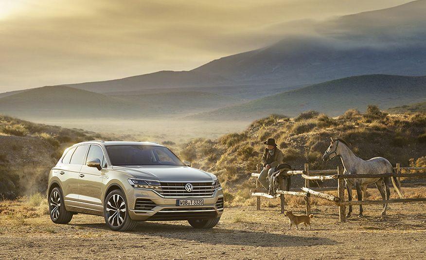 2019 Volkswagen Touareg (Euro-spec) - Slide 9