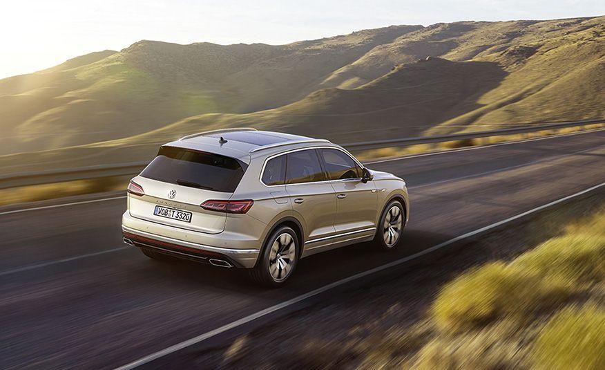 2019 Volkswagen Touareg (Euro-spec) - Slide 4