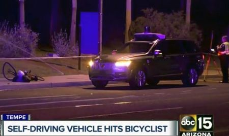 After Crash, Arizona Governor Suspends Uber Self-Driving-Vehicle Testing