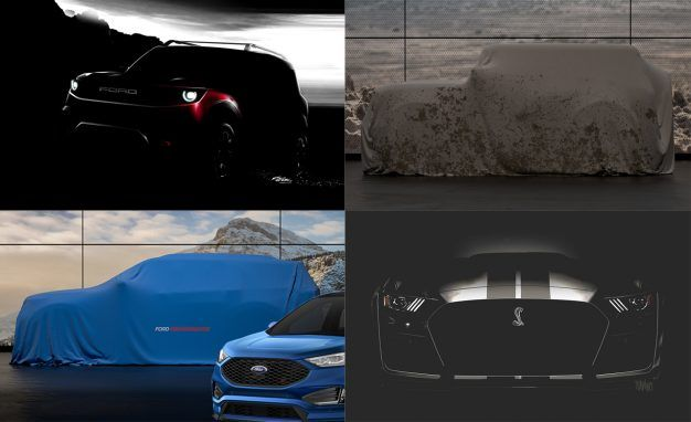 Ford's Future Lineup Laid Bare: Here's What We Know (Including Bronco, GT500, and More!)