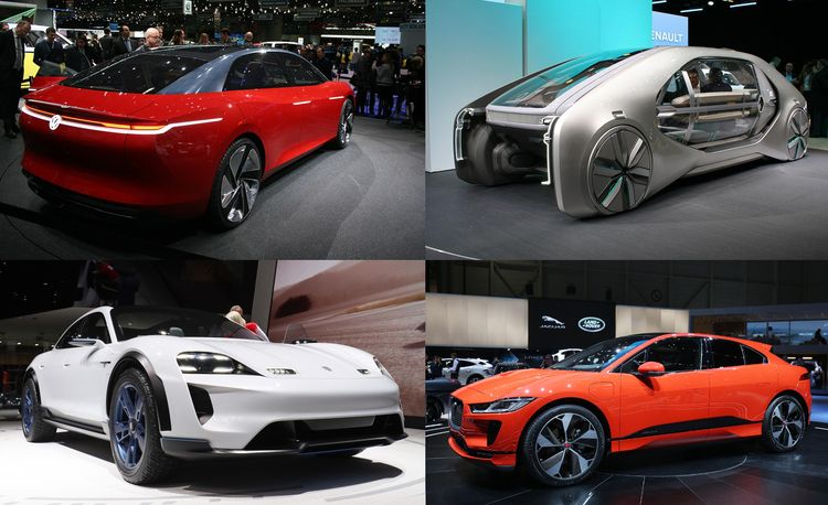 Must-See EVs: Every Consequential Electric Car from the 2018 Geneva Auto Show