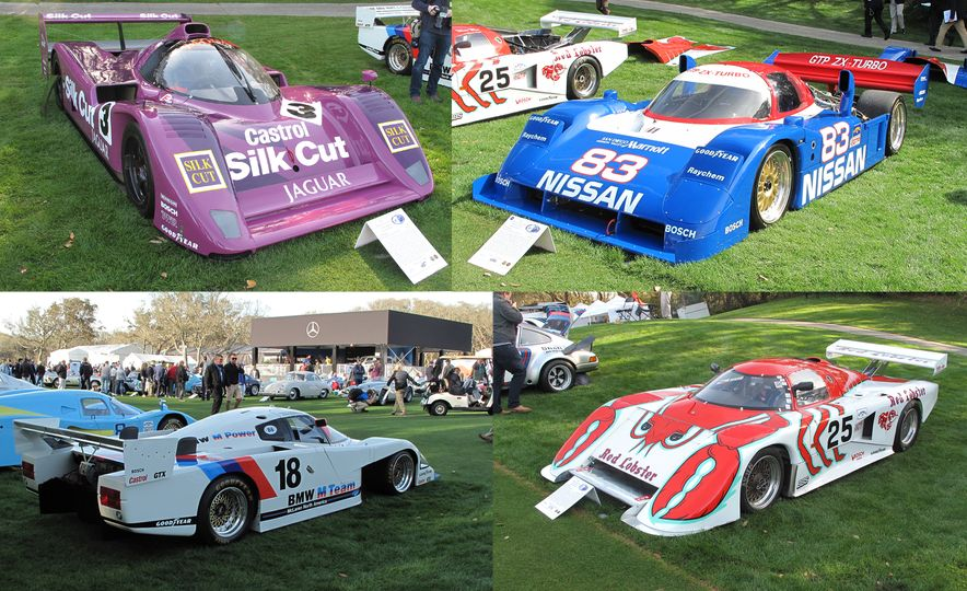 12 of IMSA's Legendary GTP Race Cars Gather at the 2018 Amelia Island Concours - Slide 1