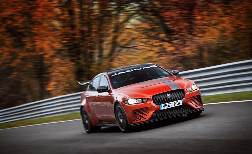 Jaguar XE SV Project 8 - Slide 1