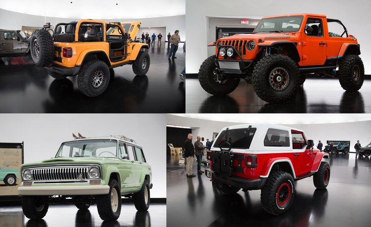 Jeep's New Easter Safari Concepts: Desert Racer, Remixed Wagoneer, and More!