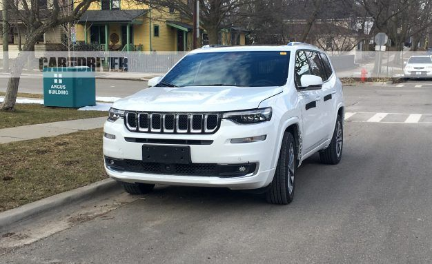 three row jeep grand commander spotted in the u s news car and rh caranddriver com 2006 Jeep Commander Differential Parts Jeep Commander Recall