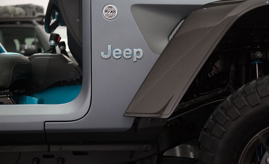 Jeep's New Easter Safari Concepts: Desert Racer, Remixed Wagoneer, and More! - Slide 15