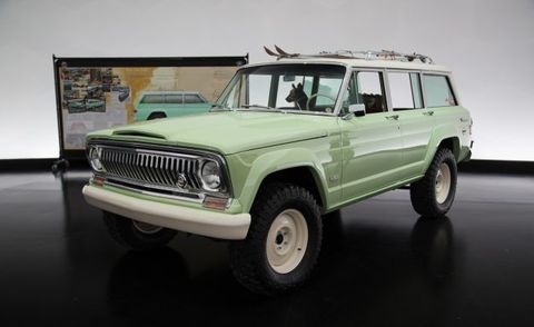 Jeep Wagoneer Concept >> Jeep Debuts Wagoneer Roadtrip At Easter Jeep Safari News Car And