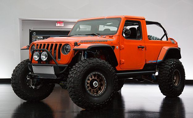 Baja Bop: The Jeep Sandstorm Is a Chopped Wrangler Built for High-Speed Desert Abuse