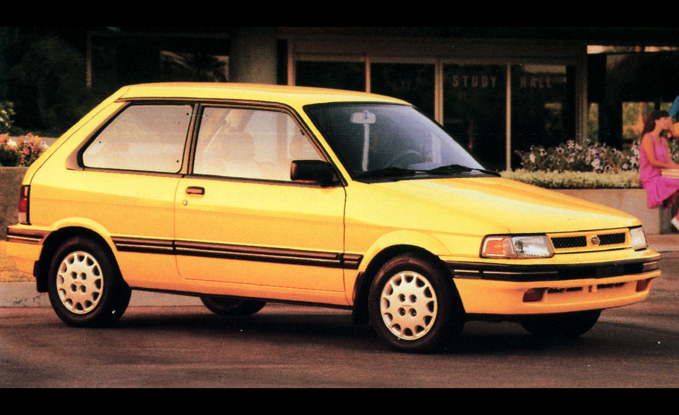 A Visual History Of Subarus 50 Years In America 1992 Subaru Justy Engine