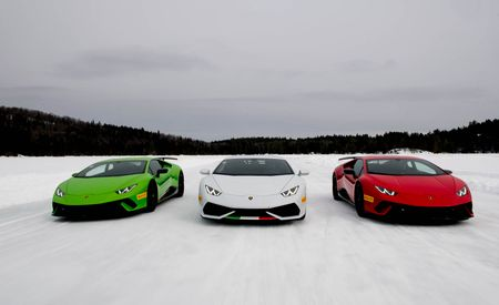 Sliding with the Bulls: We Survive Lamborghini's Winter Accademia