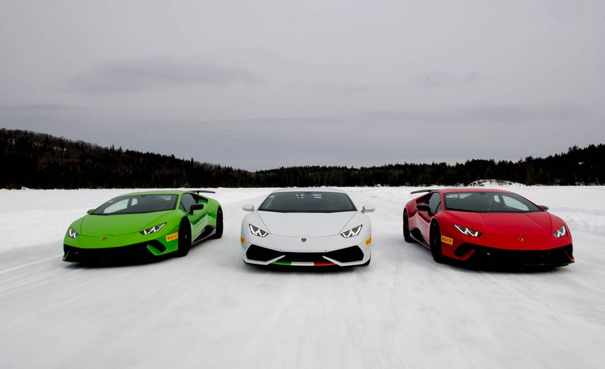 Lamborghini Winter Accademia - Slide 1