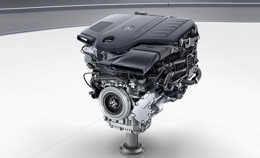 Mercedes turbocharged 3.0-liter V-6 engine - Slide 1