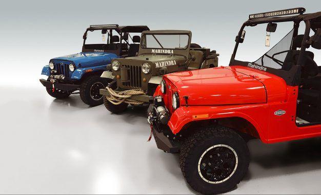 mahindra reveals detroit built roxor off road vehicle news car rh caranddriver com Mahindra and Mahindra Jeeps Mahindra Roxor Jeep Tivoli