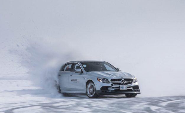 Dashing through the Snow in a 603-HP Mercedes-AMG