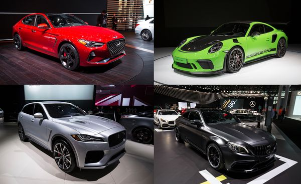 New York Auto Show New Debuts And Future Cars Car And Driver - Car show tickets 2018