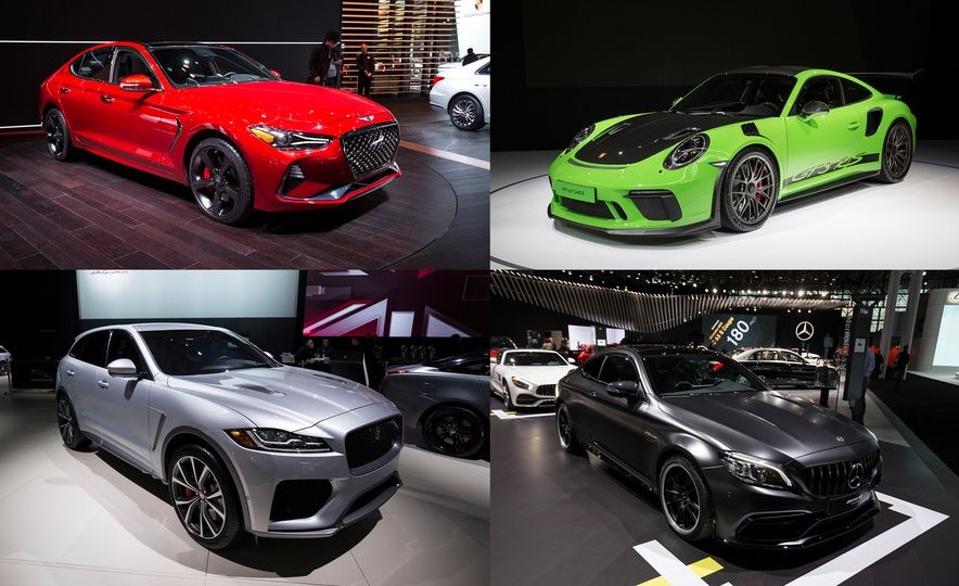 Our Seven Favorite PerformanceOriented Debuts From The New - New york auto show