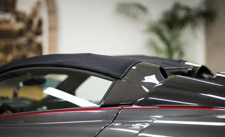 Take a Hard Look at the Pagani Huayra Roadster's Soft Top
