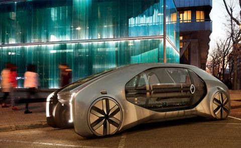 Renault Ez Go An Autonomous Ridesharing Robo Vehicle News Car