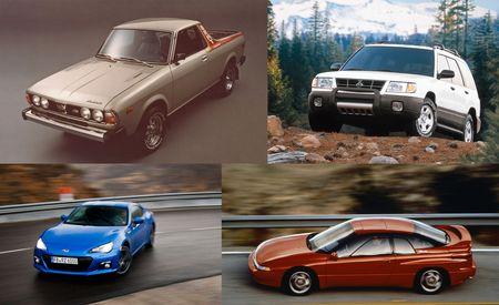 A Visual History of Subaru's 50 Years in America